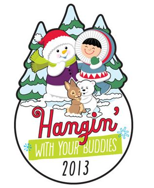 2013 Hangin With Your Buddies Hallmark Ornament Event
