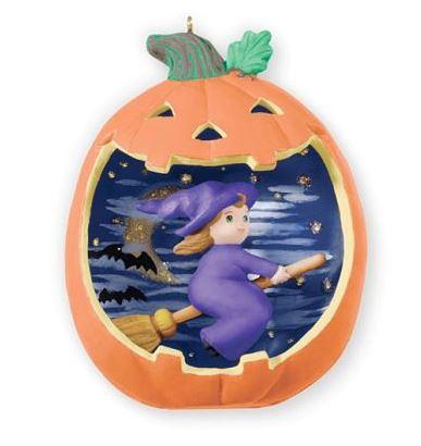 2013 Happy Halloween Witch Hallmark Halloween Ornament