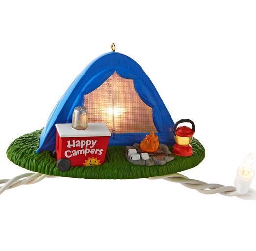2013 Happy Campers Hallmark Christmas Ornament | Hallmark ...