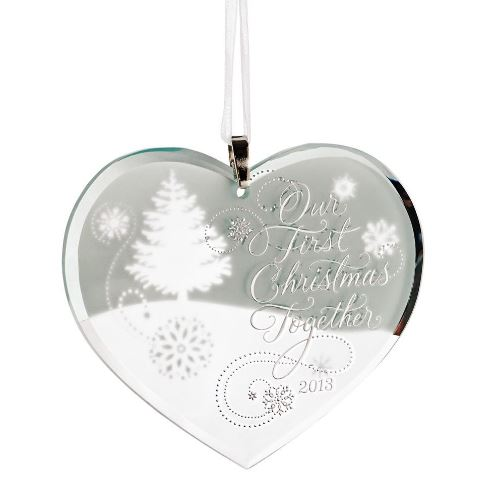 2013 Our First Christmas Together Hallmark Christmas Ornament | Hallmark Keepsake Ornaments at Hooked on Hallmark Ornaments