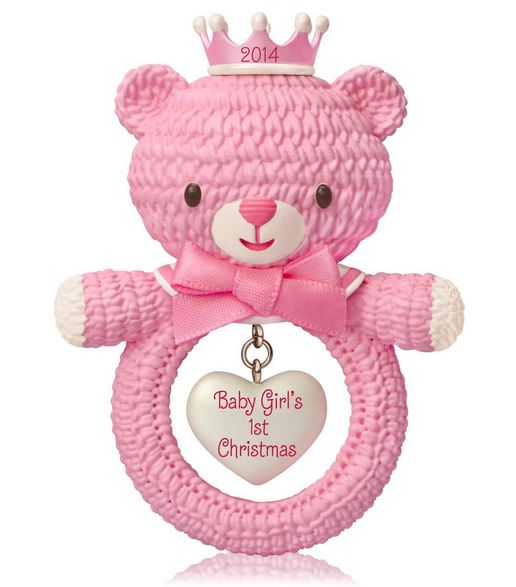 Hallmark Baby/'s First Christmas Photo Holder 2014 On Cute Cookie ornament
