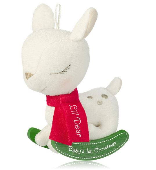 2014 Baby's First Christmas Hallmark Ornament - Hooked on ...