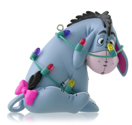 2014 totally tangled eeyore hallmark ornament
