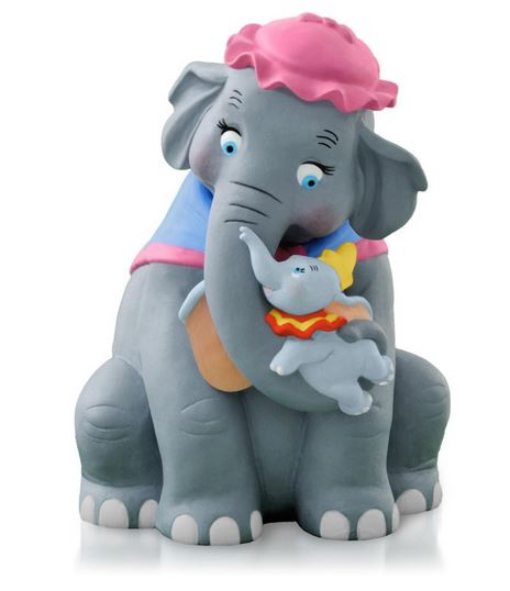 2014 Baby Mine Dumbo Hallmark Ornament Hooked On