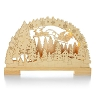 2014 Laser-Cut Santa Scene - LIGHTED 17