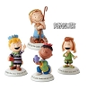 2014-18 Peanuts Nativity - Glad Tidings - 4 figurines