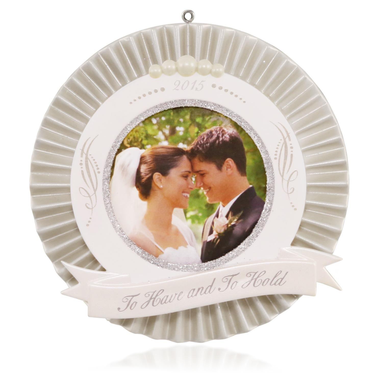 2017 Wedding Hallmark Keepsake Celebrations Hooked On Ornaments