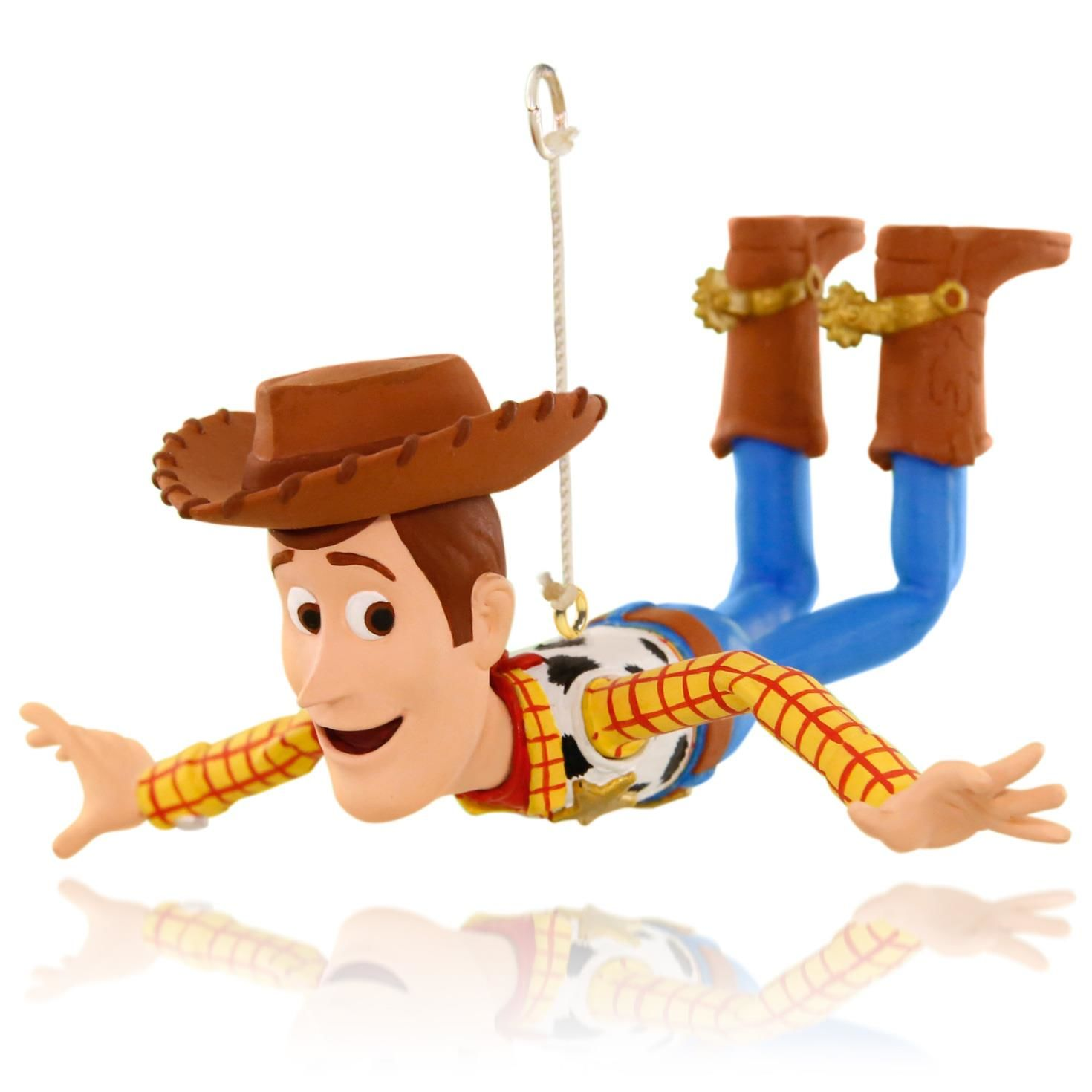 Toy Story Christmas Ornaments.2015 Woody Is On A Mission Hallmark Keepsake Ornament Hooked On Hallmark Ornaments