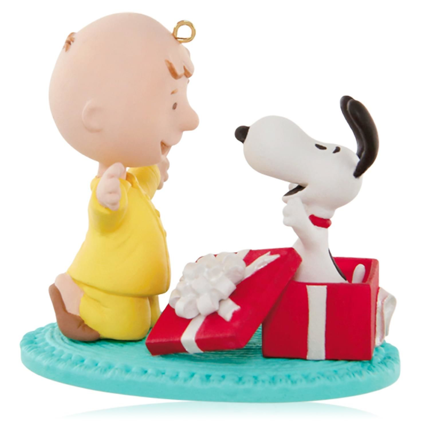 the best attitude 0dd82 1b747 2015 Snoopy For Christmas Hallmark Keepsake Ornament - Hooked on Hallmark  Ornaments