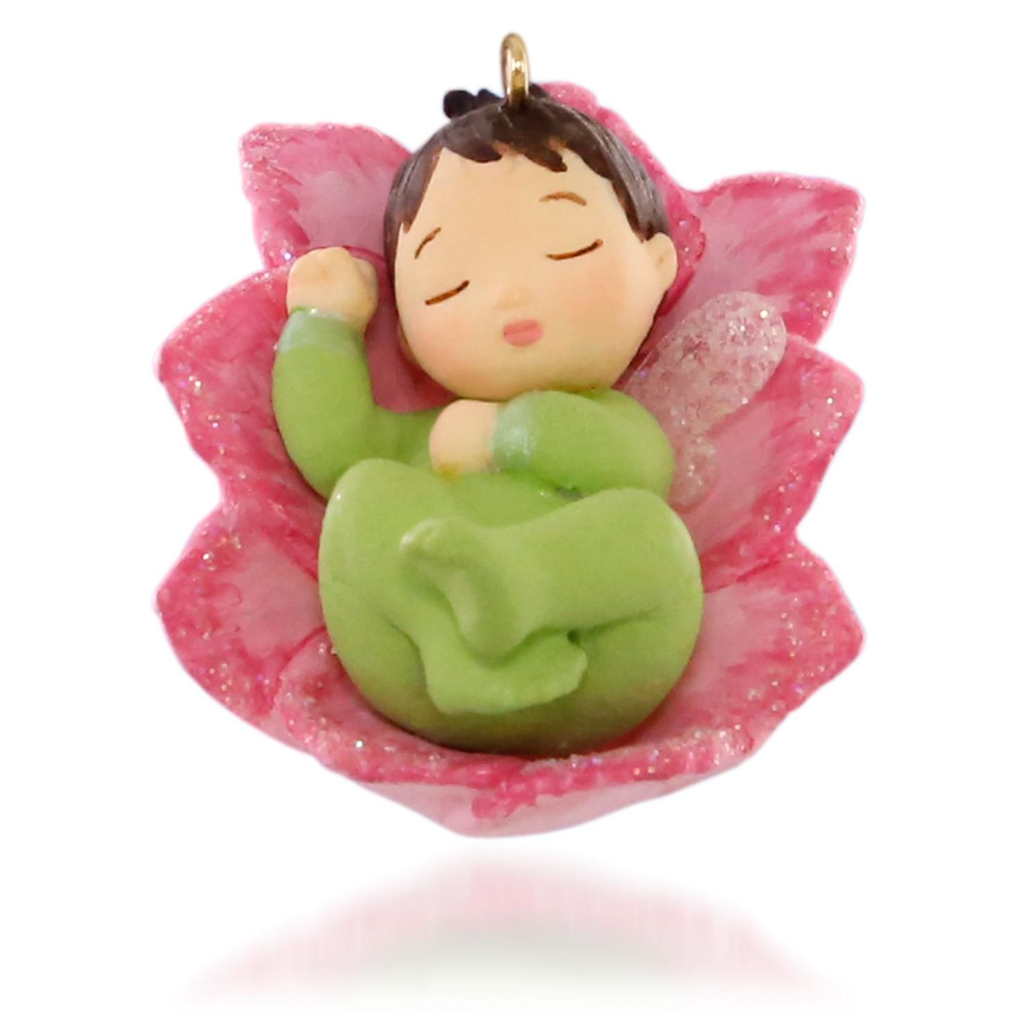 HALLMARK 2015 Lotus and Poinsettia #1 in the Baby Fairy Messengers Series NEW