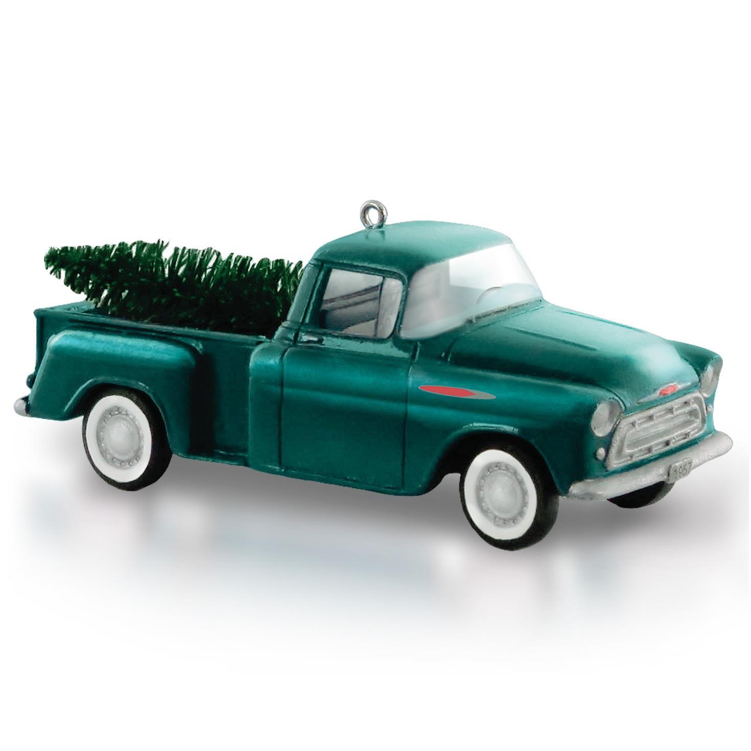 2015 Iron Man Hallmark Keepsake Ornament Hooked On Ornaments 1957 Chevrolet Sales Brochure