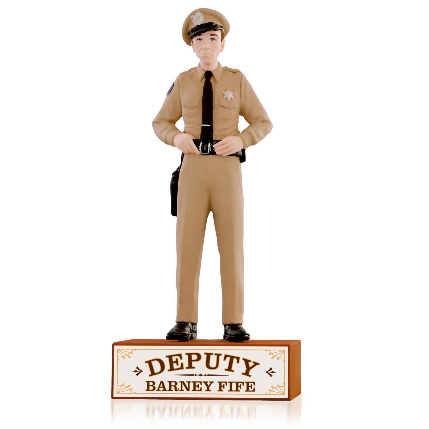 2015 Deputy Barney Fife Hallmark Ornament - Hooked on Hallmark Ornaments