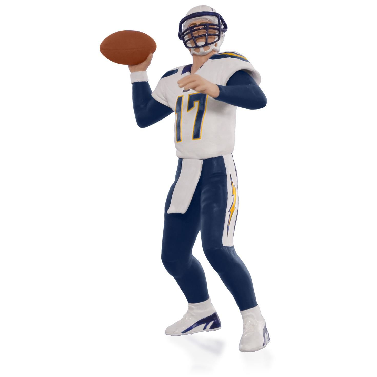 San Diego Chargers Christmas Ornaments: 2015 Football Legends Phillip Rivers San Diego Chargers