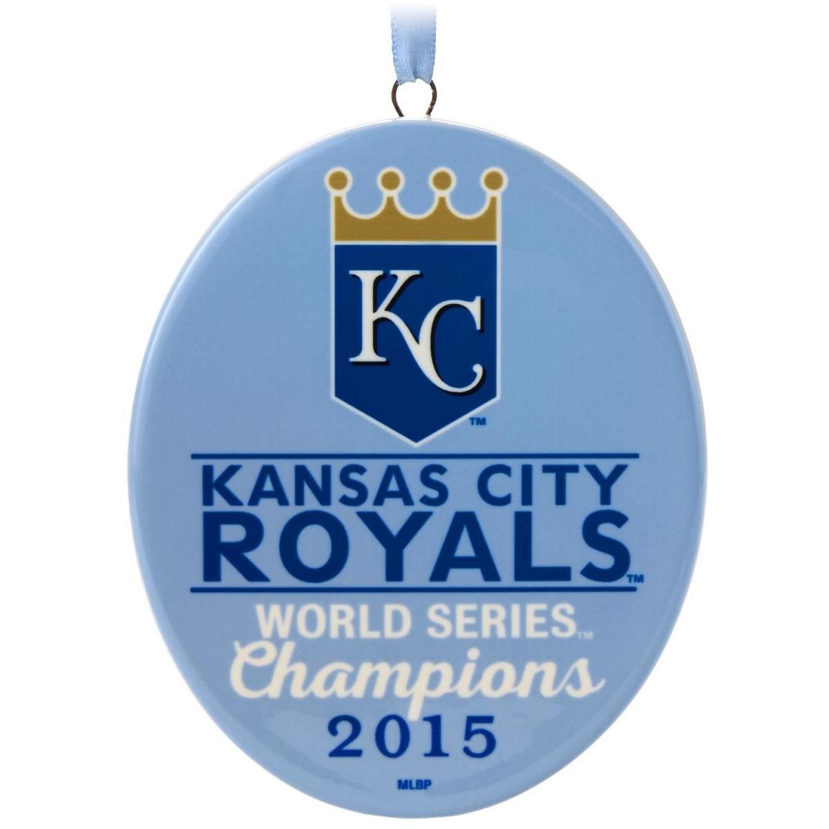 2015 2015 Kansas City Royals World Series Hallmark Keepsake Ornament ...