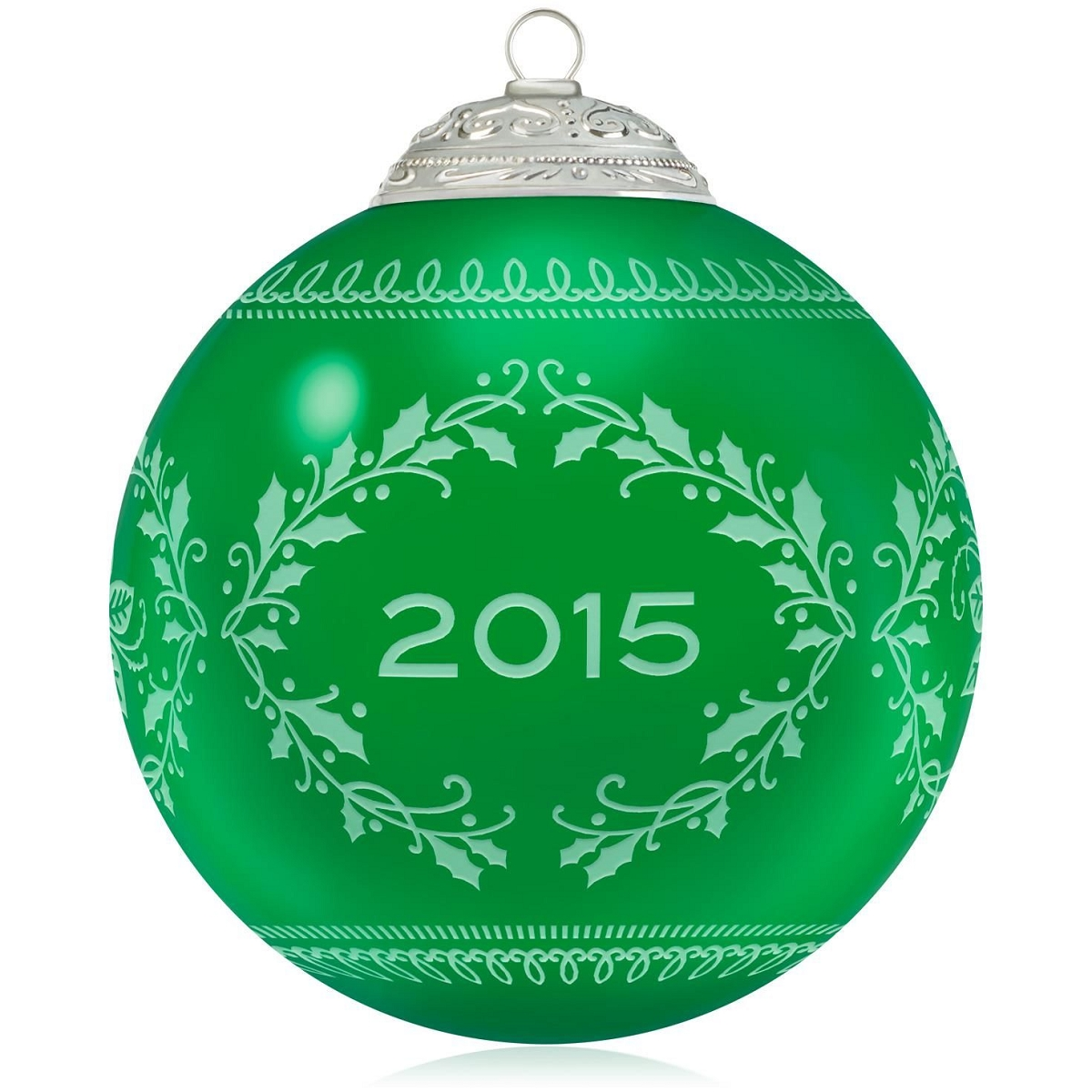 2015 Christmas Commemorative Ball Hallmark Keepsake