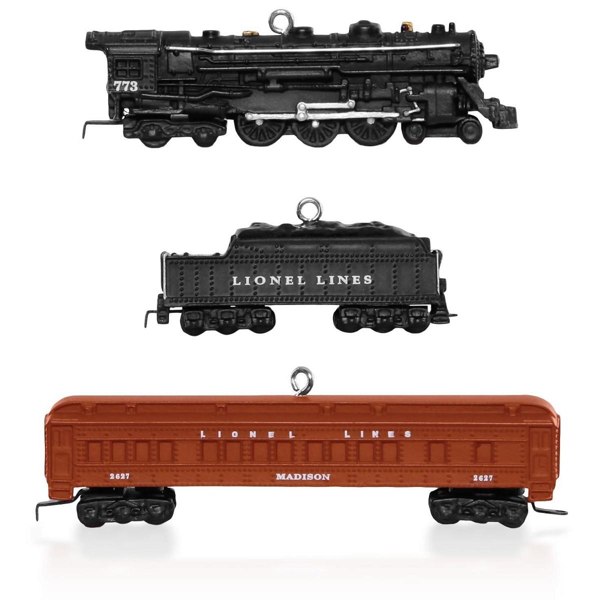 2015 Lionel 2148 Deluxe Pullman Set Hallmark Keepsake