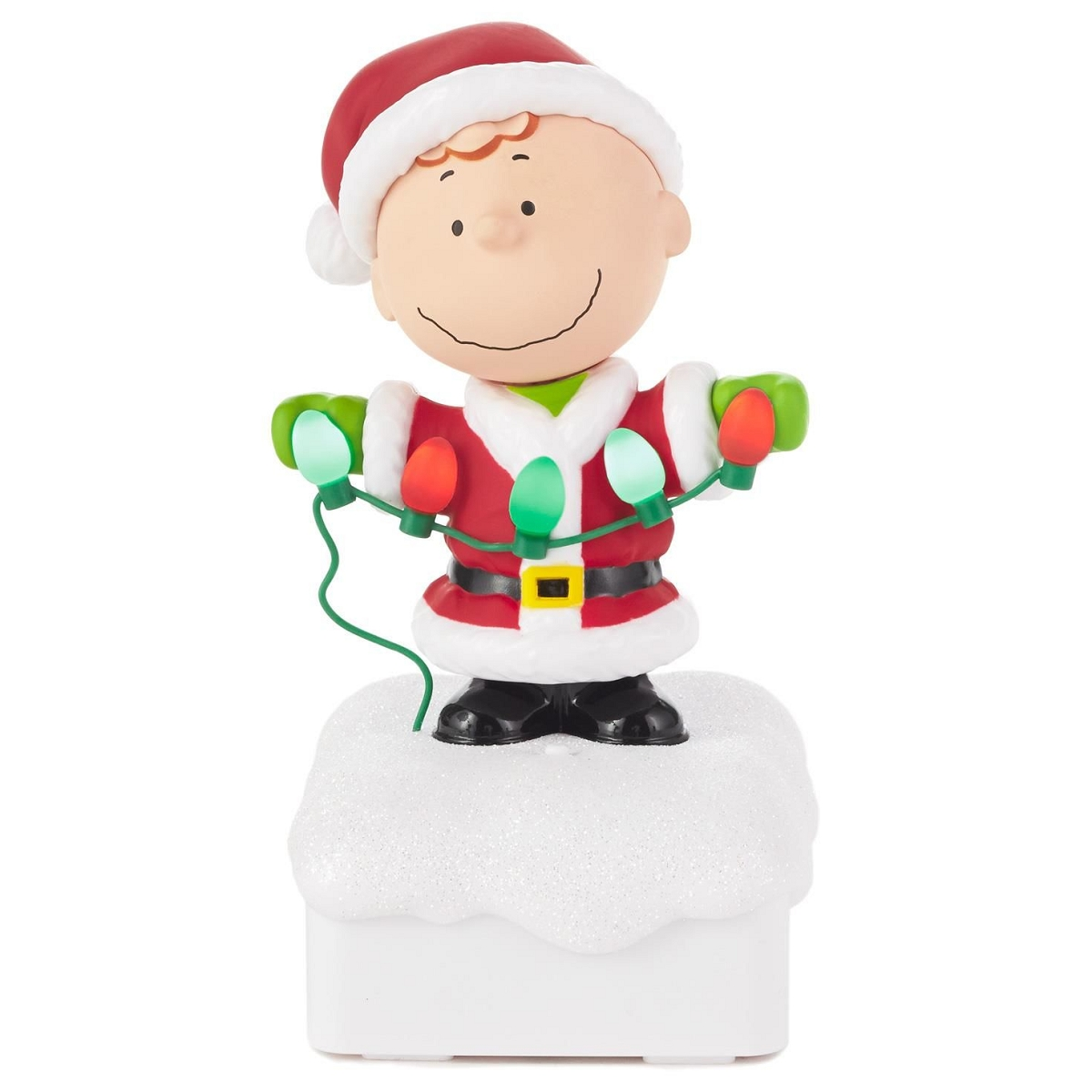 2015 Peanuts Gang Christmas Light Show - Charlie Brown - Hooked on ...