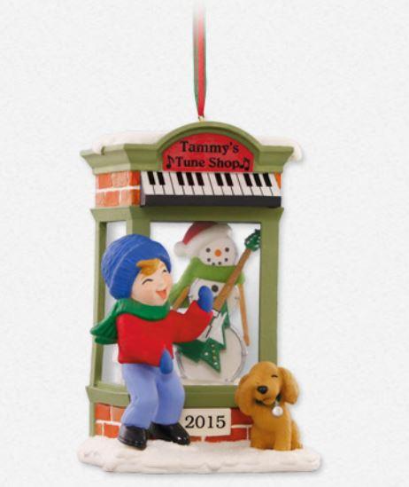 2015 Christmas Window #13 Tammy's Tunes Hallmark Keepsake ...