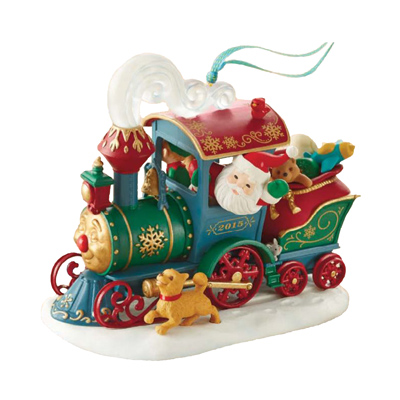 2015 santa s christmas train hallmark keepsake ornament hooked on