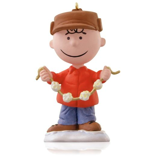 Snoopy Christmas Tree Topper: 2015 Decking The Tree Peanuts Gang Hallmark Keepsake