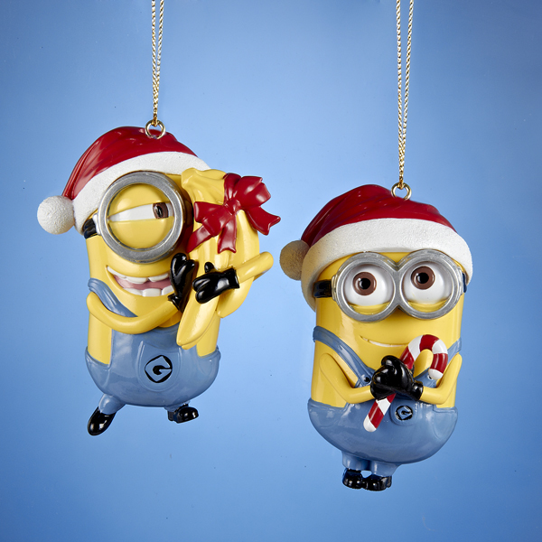 2015 Despicable Me Minion Ornaments - Hooked on Ornaments