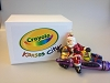 Crayola Santa, Purple - Very hard to Find!