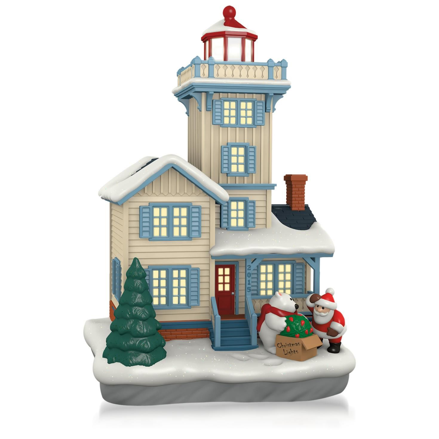 2015 Holiday Lighthouse Hallmark Keepsake Ornament