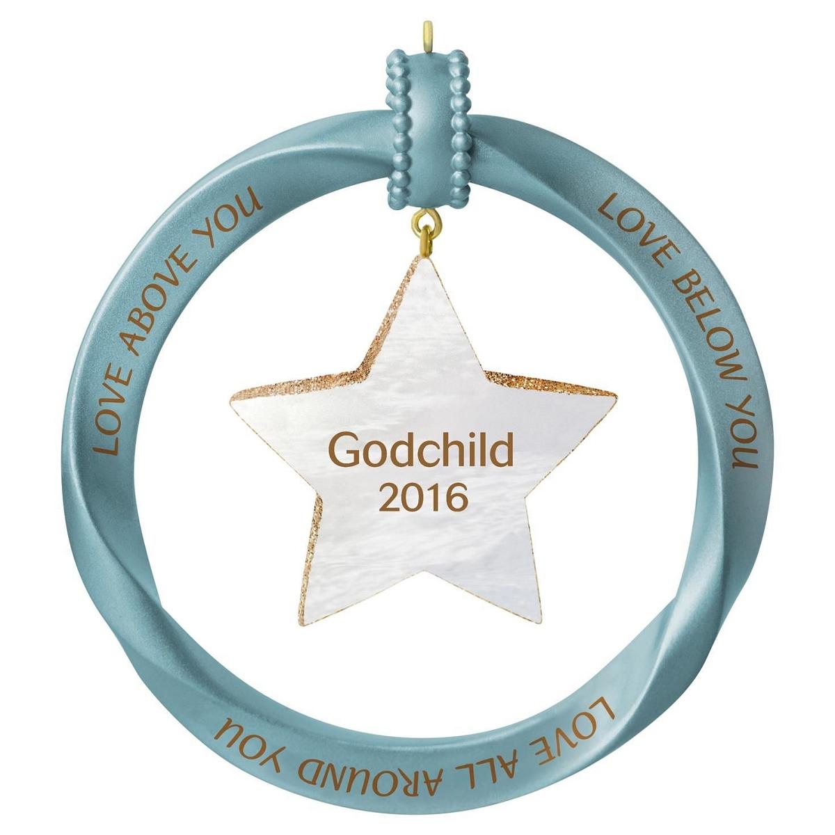 2016 Godchild Hallmark Keepsake Ornament - Hooked on ...