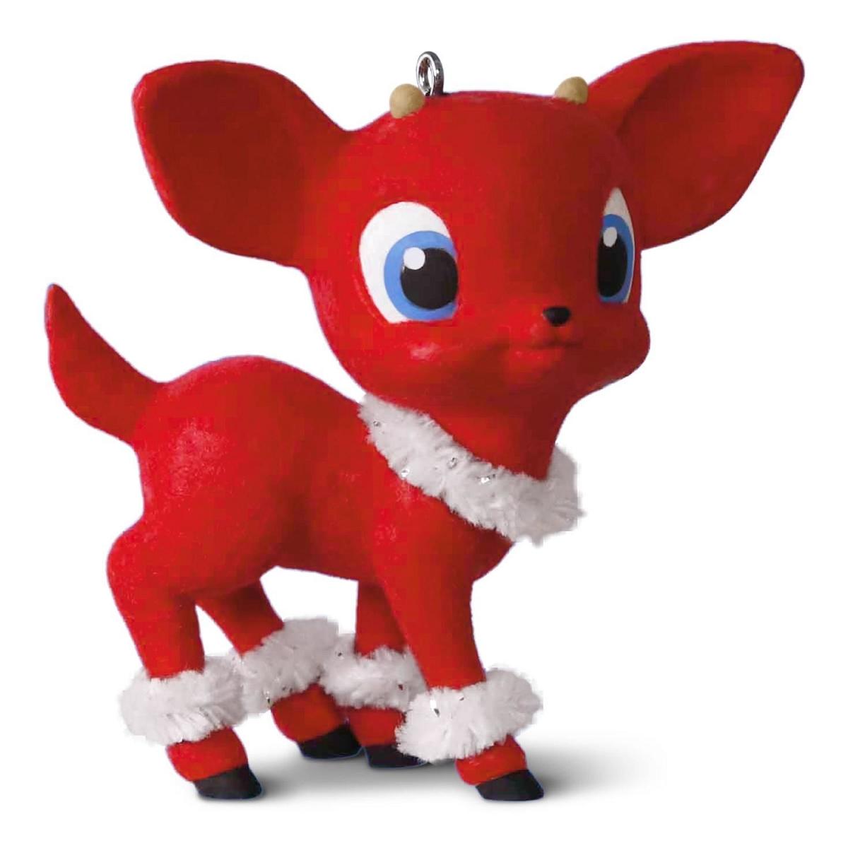 2016 Retro Reindeer Hallmark Keepsake Ornament Hooked On