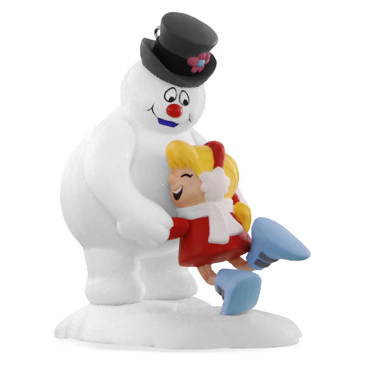 2016 warm frosty hug hallmark keepsake ornament