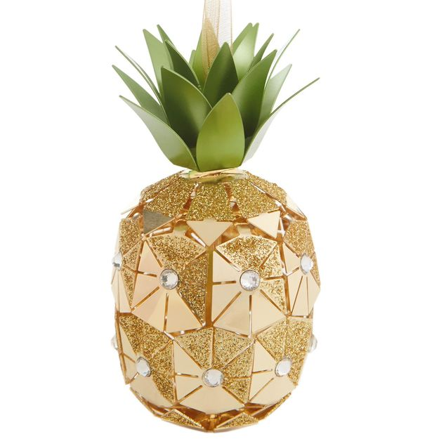 Close - 2016 Pineapple Signature Hallmark Ornament - Hooked On Hallmark