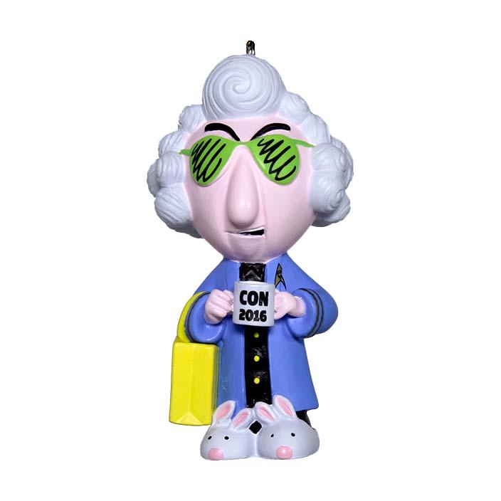 2016 Comic Con Maxine Hallmark Christmas Ornament Hooked