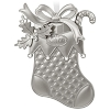2017 Christmas Stocking - Elegantly Engraved Metal