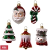 2017 Symbols of the Season, set of 4 - NO bell