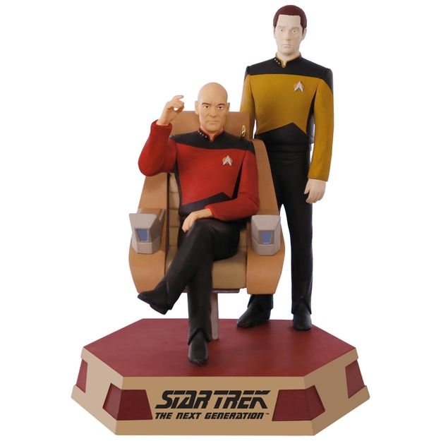 2017 Star Trek, Captain Jean Luc Picard and Lt Comm Data