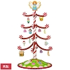 2017 Season's Treatings Miniature Tree Set