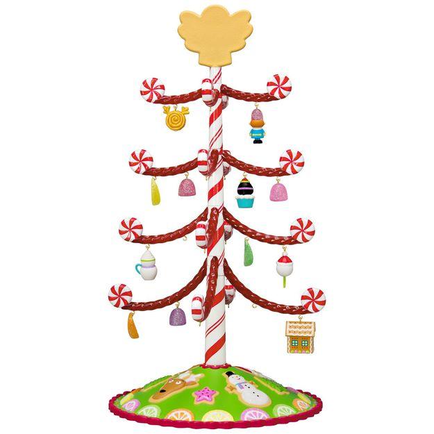 Mini Black Christmas Tree: 2017 Season's Treatings Miniature Tree Set Hallmark