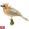 2017 Beauty of Birds Cedar Waxwing, MINIATURE