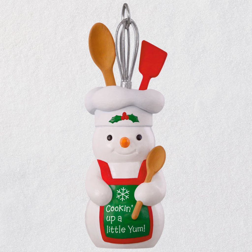 2018 Cookin Up a Little Yum Hallmark Christmas Ornament ...