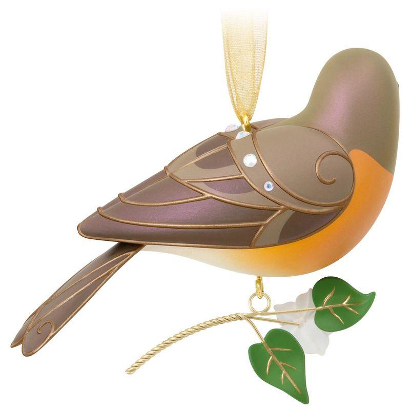 2018 Hallmark ROBIN Beauty of the Birds ORNAMENT #14