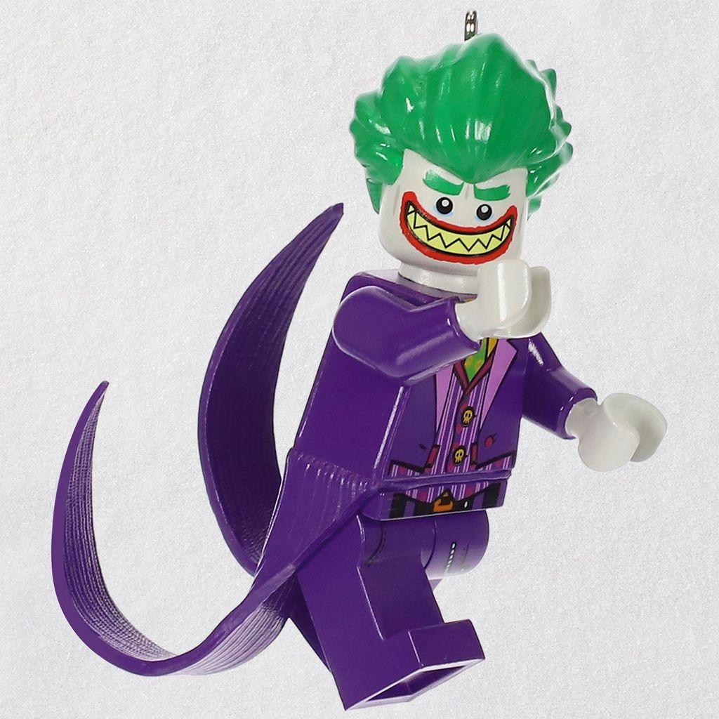 Joker Christmas Ornament.2018 Joker Lego