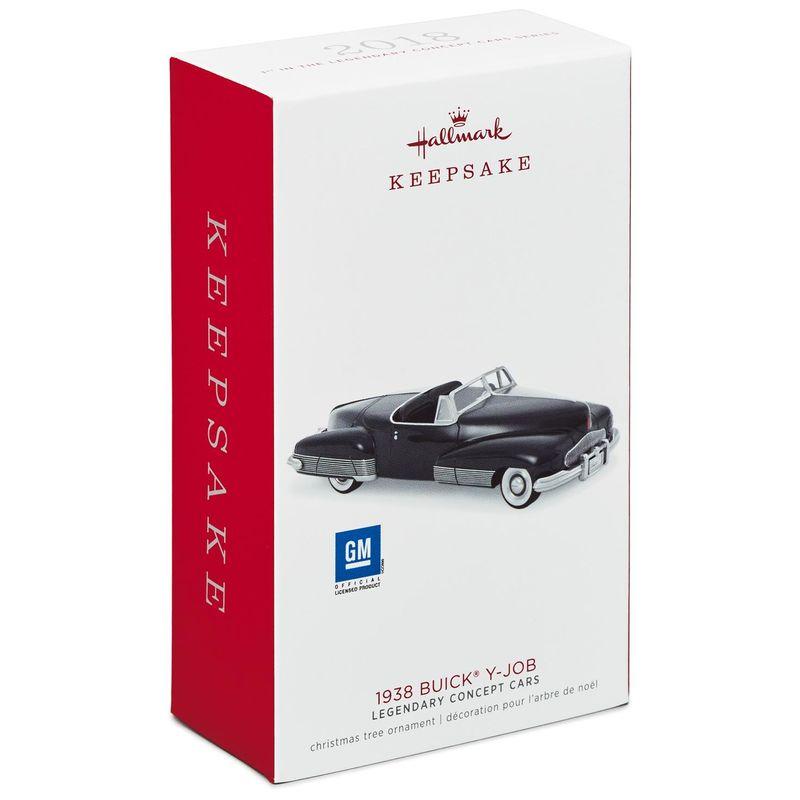Hallmark 2018 1938 Buick Y-Job Legendary Concept Cars Series Christmas Ornament