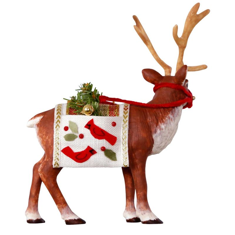 2018 Father Christmas's Reindeer Christmas Ornament ...
