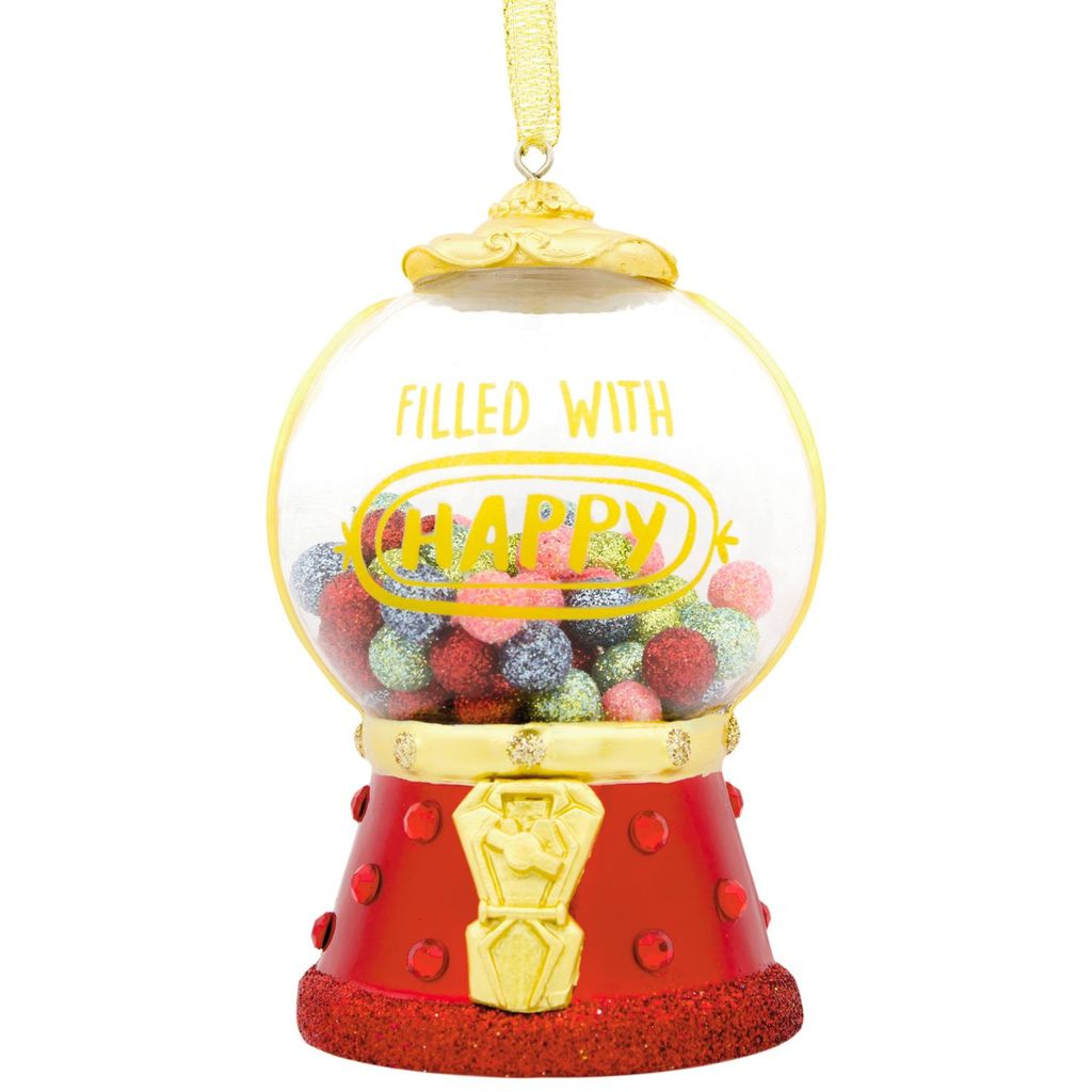 2018 Hallmark Signature Gumball Machine Christmas Ornament