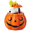 2018 Halloween, Snoopy & Woodstock Jack-o-Lantern Treat Jar