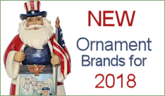 NEW Ornaments Brands 2018