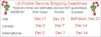 2018 Shipping Schedules