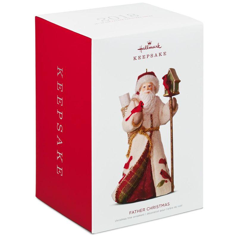 2018 Father Christmas #15 Hallmark Keepsake Ornament ...