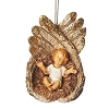 2018 Fontanini Baby Jesus In Angel Wings