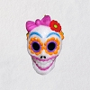 2018 Halloween, Sugar Skull Gal - Miniature Ornament